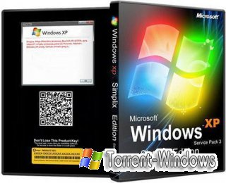 Windows XP Pro SP3 VLK 25.09.2011 simplix edition