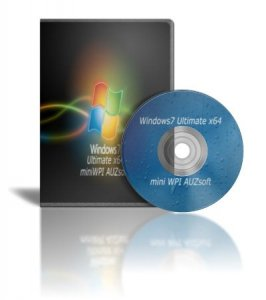 Windows 7х64 Ultimate AUZsoft+miniWPI v.3.12 (2012) Русский