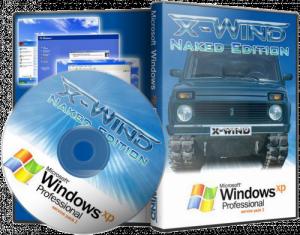 Windows XP Professional SP3 (X-Wind) by YikxX, RUS, VL, x86, AHCI/RAID Adv [Naked Edition] (01.03.2012) [чистая]