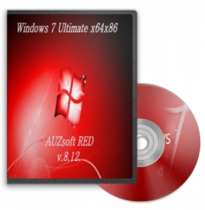 Windows7 Ultimate AUZsoft RED v.8.12 (32bit+64bit) (2012) Русский