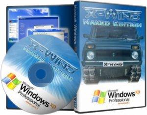 Windows XP Professional SP3 (X-Wind) by YikxX, RUS, VL, x86, AHCI/RAID Adv [Naked Edition] (18.06.2014) [чистая]