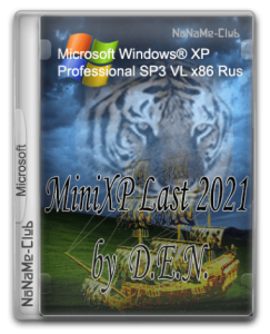 Windows® XP Professional SP3 VL x86 by D.E.N. (MiniXP 2021) [Ru]